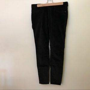 Pilcro and the Letterpress velvet jeans.